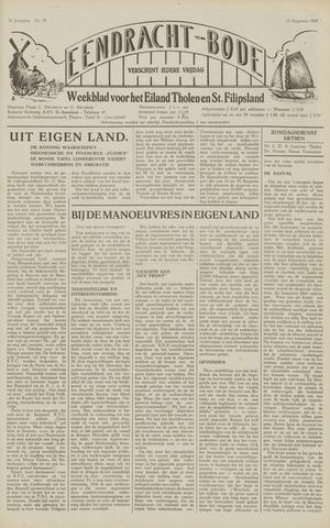 Eendrachtbode (1945-heden)/Mededeelingenblad voor het eiland Tholen (1944/45) 1949-08-12