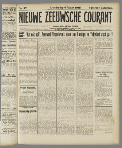 Nieuwe Zeeuwsche Courant 1919-03-06
