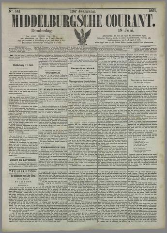 Middelburgsche Courant 1891-06-18