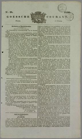 Goessche Courant 1836-02-29