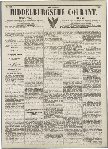 Middelburgsche Courant 1901-06-13