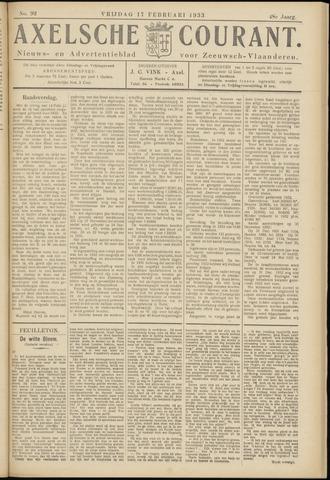Axelsche Courant 1933-02-17