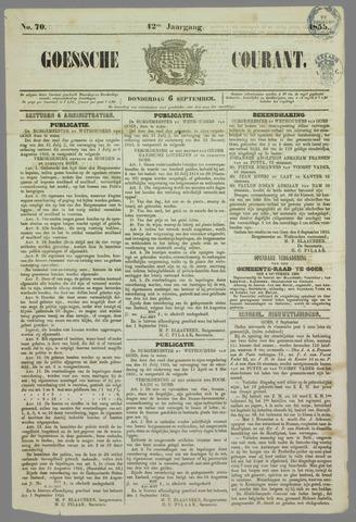 Goessche Courant 1855-09-06