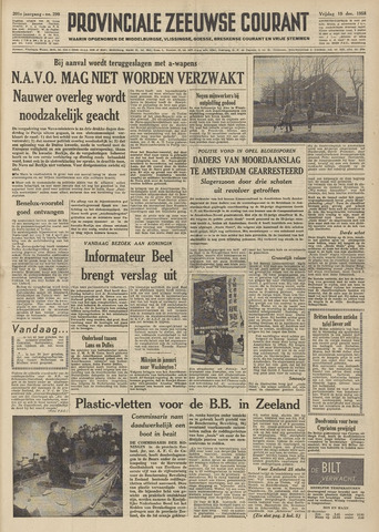 Provinciale Zeeuwse Courant 1958-12-19