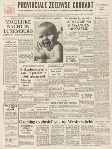 Provinciale Zeeuwse Courant 1967-10-27