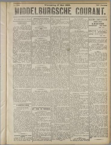 Middelburgsche Courant 1922-05-17