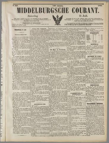 Middelburgsche Courant 1903-07-11