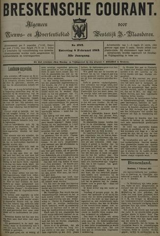Breskensche Courant 1913-02-08