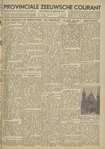Provinciale Zeeuwse Courant 1944-01-15