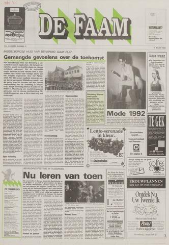 de Faam en de Faam/de Vlissinger 1992-03-11