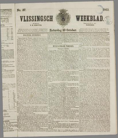 Vlissings Weekblad 1863-10-10