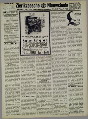 Zierikzeesche Nieuwsbode 1921-12-05