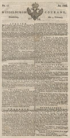 Middelburgsche Courant 1768-02-04