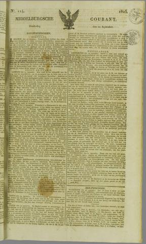 Middelburgsche Courant 1825-09-22