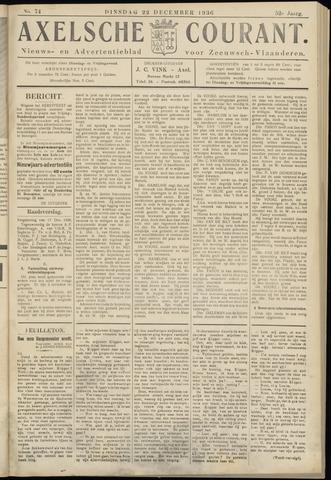 Axelsche Courant 1936-12-22