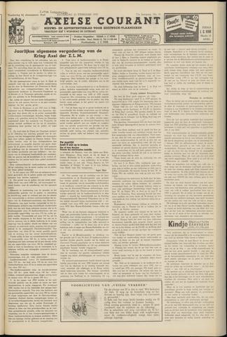 Axelsche Courant 1957-02-23