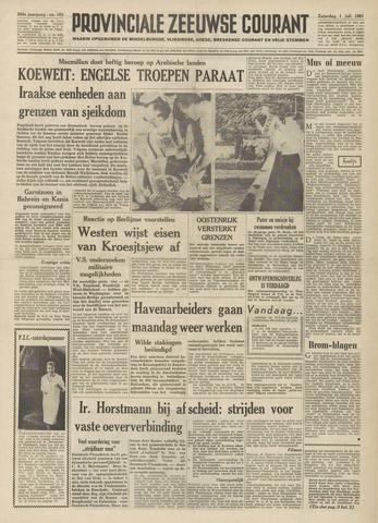 Provinciale Zeeuwse Courant 1961-07-01