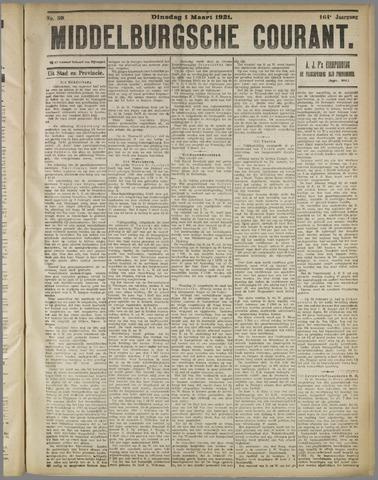 Middelburgsche Courant 1921-03-01