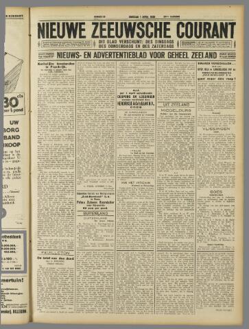 Nieuwe Zeeuwsche Courant 1930-04-01