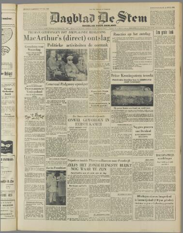 de Stem 1951-04-12