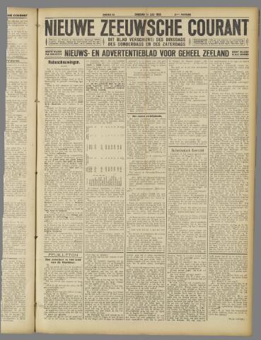 Nieuwe Zeeuwsche Courant 1925-07-14