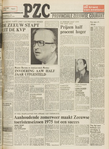 Provinciale Zeeuwse Courant 1975-08-13