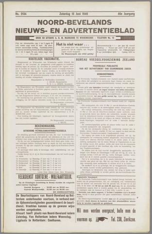 Noord-Bevelands Nieuws- en advertentieblad 1940-06-15