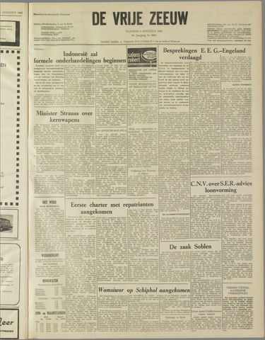 de Vrije Zeeuw 1962-08-06