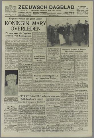Zeeuwsch Dagblad 1953-03-25