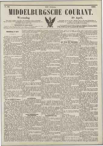Middelburgsche Courant 1901-04-10
