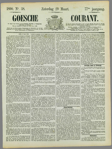 Goessche Courant 1890-03-29