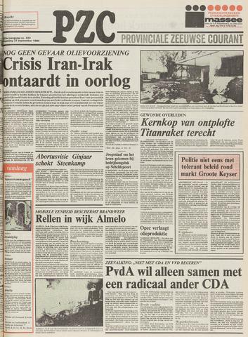Provinciale Zeeuwse Courant 1980-09-22