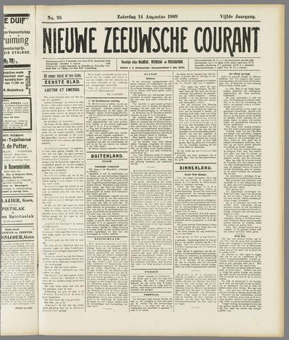 Nieuwe Zeeuwsche Courant 1909-08-14