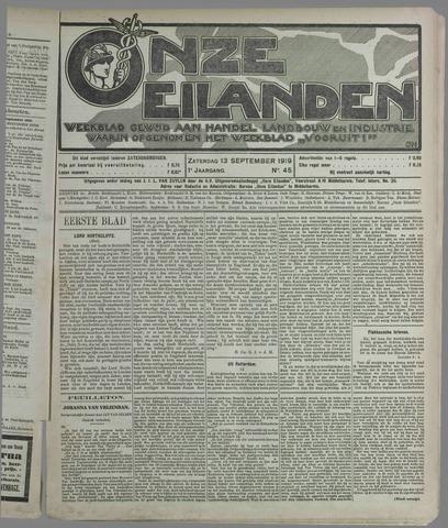 Onze Eilanden 1919-09-13
