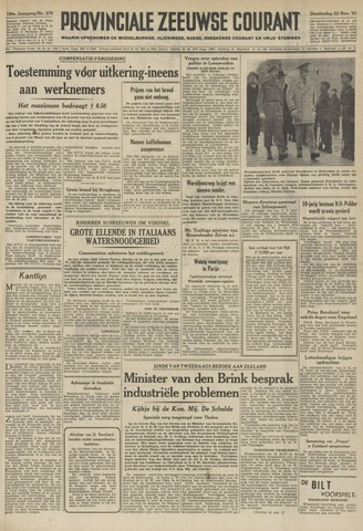 Provinciale Zeeuwse Courant 1951-11-22