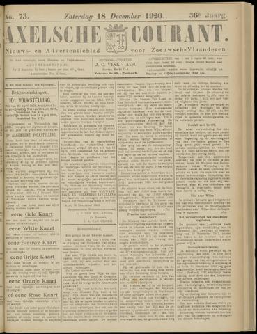 Axelsche Courant 1920-12-18