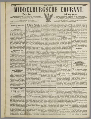 Middelburgsche Courant 1905-08-26