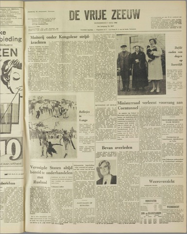 de Vrije Zeeuw 1960-07-07