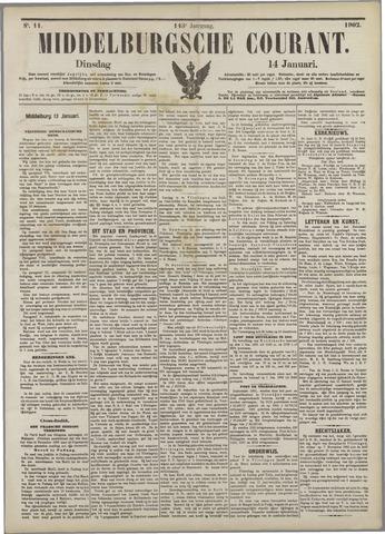 Middelburgsche Courant 1902-01-14