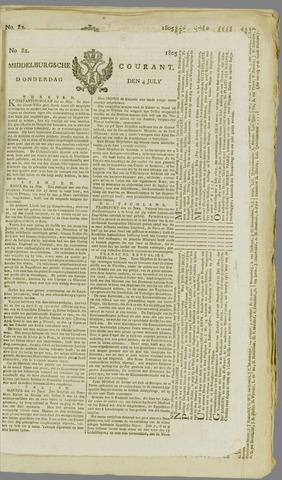 Middelburgsche Courant 1805-07-04