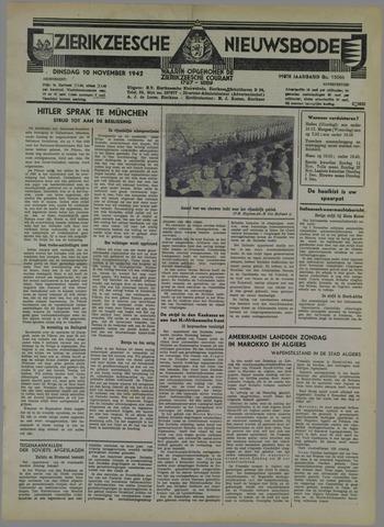 Zierikzeesche Nieuwsbode 1942-11-10