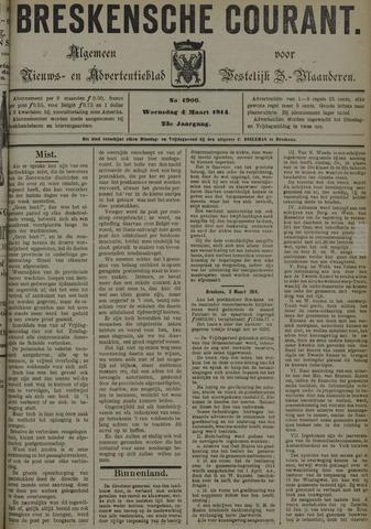Breskensche Courant 1914-03-04