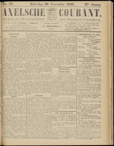 Axelsche Courant 1911-09-30