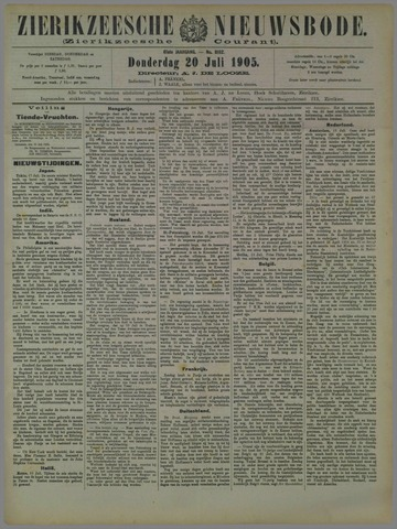 Zierikzeesche Nieuwsbode 1905-07-20