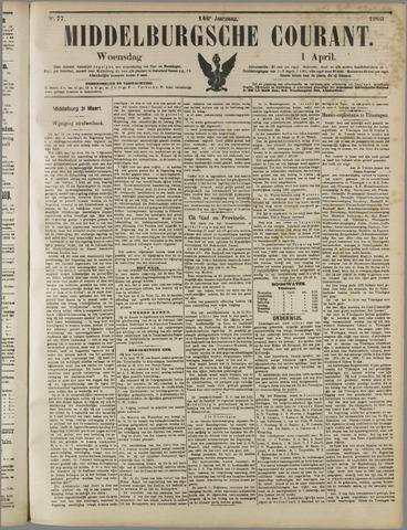 Middelburgsche Courant 1903-04-01