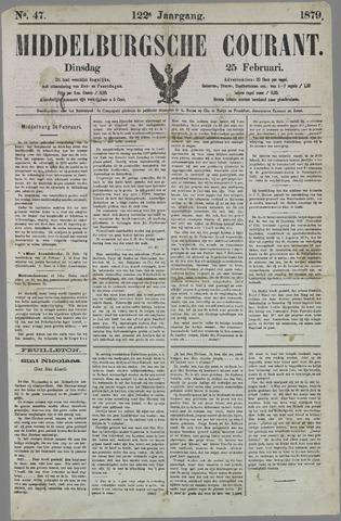 Middelburgsche Courant 1879-02-25