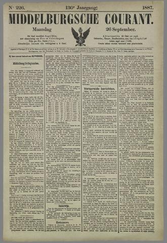 Middelburgsche Courant 1887-09-26