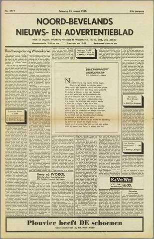Noord-Bevelands Nieuws- en advertentieblad 1960-01-23