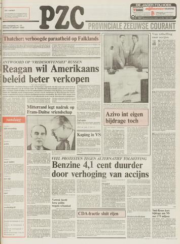 Provinciale Zeeuwse Courant 1983-01-21