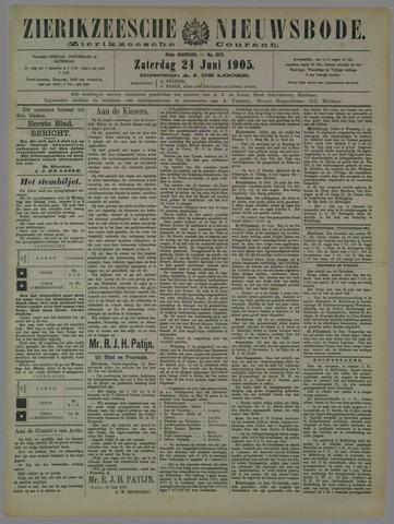 Zierikzeesche Nieuwsbode 1905-06-24